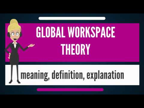 What is GLOBAL WORKSPACE THEORY? What does GLOBAL WORKPLACE THEORY mean?
