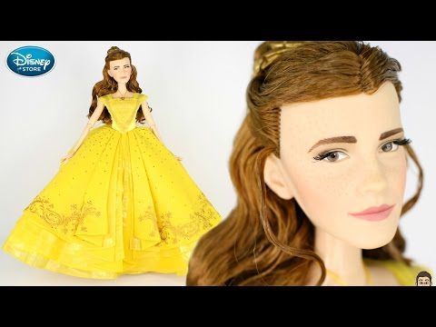 "Belle LIMITED EDITION 17"" Doll UNBOXING & REVIEW - Beauty & The Beast LIVE ACTION 2017 - Emma Watson"