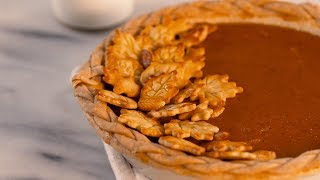 Dairy-Free Coconut-Pumpkin Pie | Southern Living
