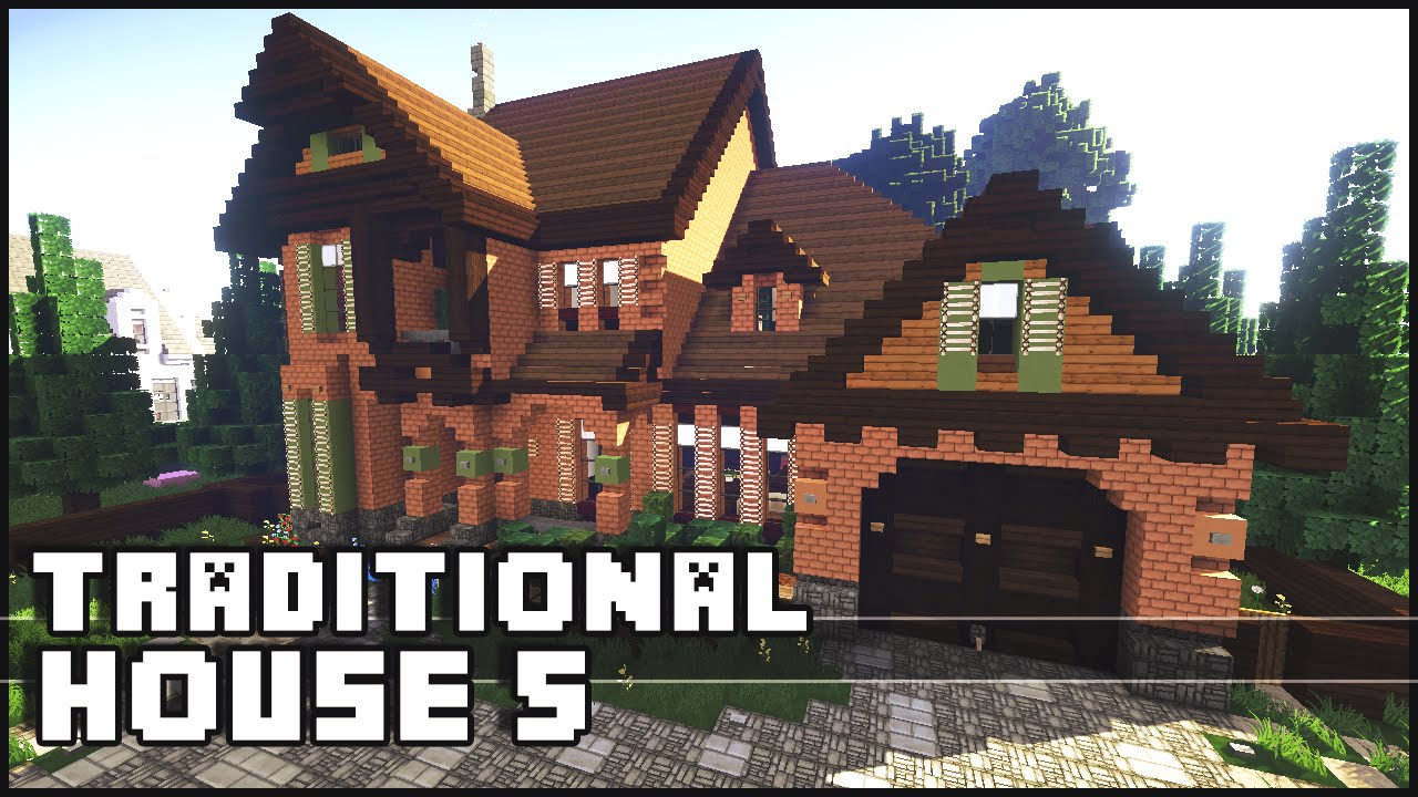 Minecraft - Traditional House 5 - YouTube - photo#39
