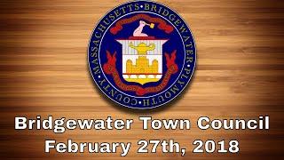town council-feb 27th