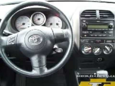 Toyota Rav4 2005 Interior >> 2005 Toyota Rav4 Youtube