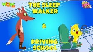 The Sleep Walker  Driving School- Eena Meena Deeka - Animated cartoon for kids - Non Dialogue