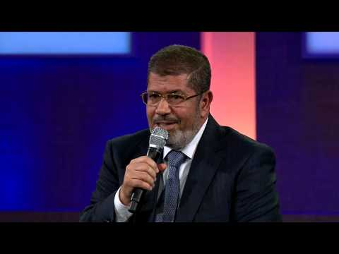 President Mohamed Morsi and President Bill Clinton - 2012 CGI Annual Meeting
