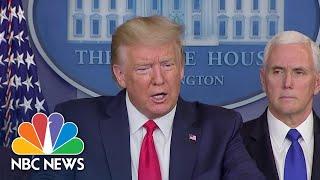 Trump Claims Calling Coronavirus 'The Chinese Virus' Is 'Not Racist At All' | NBC News