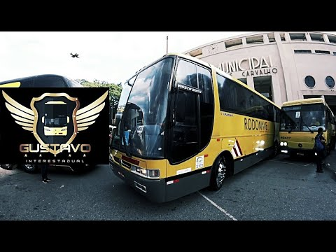 Saída Gustavo Interestadual motorista de ônibus da Itapemirim - 13ª Bus Brasil Fest - Parte 10.