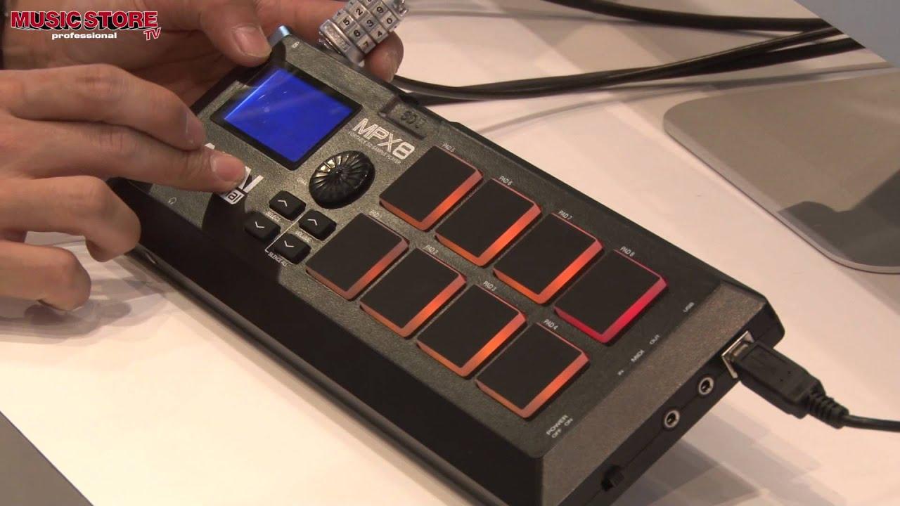 Musikmesse 2013 - AKAI MPX8 Sample Player (deutsch) - YouTube