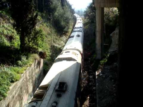 Train from Kalamata and Tripolis, enters Korinth on retired trip.