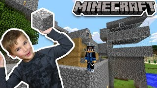 BUILDING SOME CRAZY STRUCTURES in MINECRAFT SURVIVAL MODE