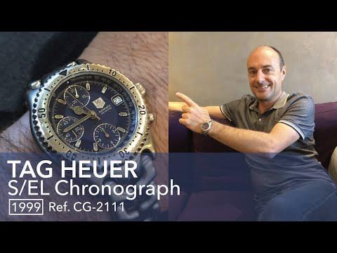 🔵 TAG Heuer S/EL Chronograph - L'histoire De Philippe Qui La Porte Tous Les Jours (S1E3)