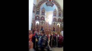 Вертеп церкви Успіння Богородиці м. Стебника, 15.01.2017