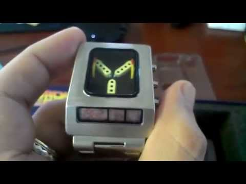 Back To The Future Flux Capacitor Watch