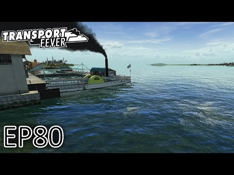 Transport Fever Gameplay   Ships on Lake Michigan!   The Great Lakes   S2 #80