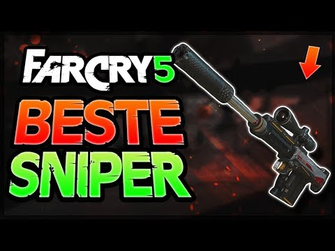 DIE BESTE SNIPER in FAR CRY 5 - Far Cry 5 beste Waffe / Tipps deutsch - bestes Scharfschützengewehr