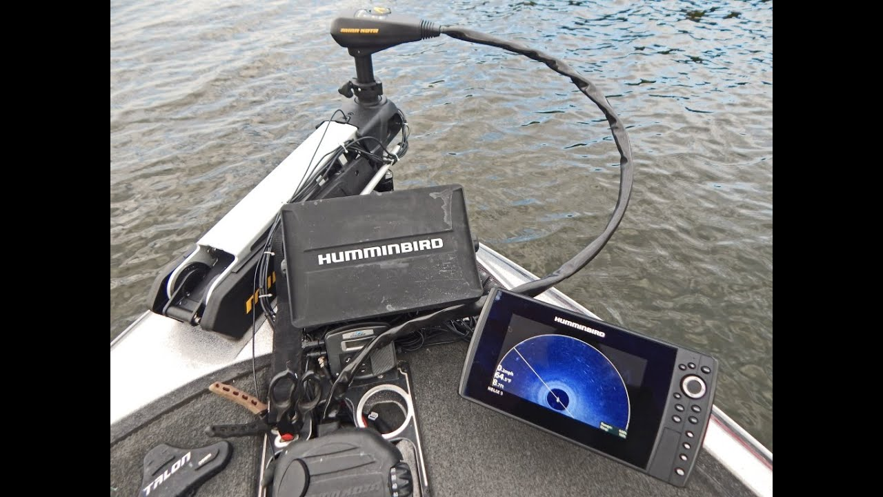 tips 'n tricks 164: humminbird helix 9 si trolling motor mounted, Fish Finder