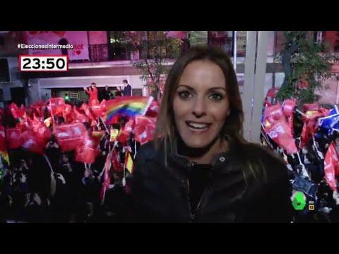 Así Vivió La Noche Electoral Andrea Ropero En La Sede Del PSOE