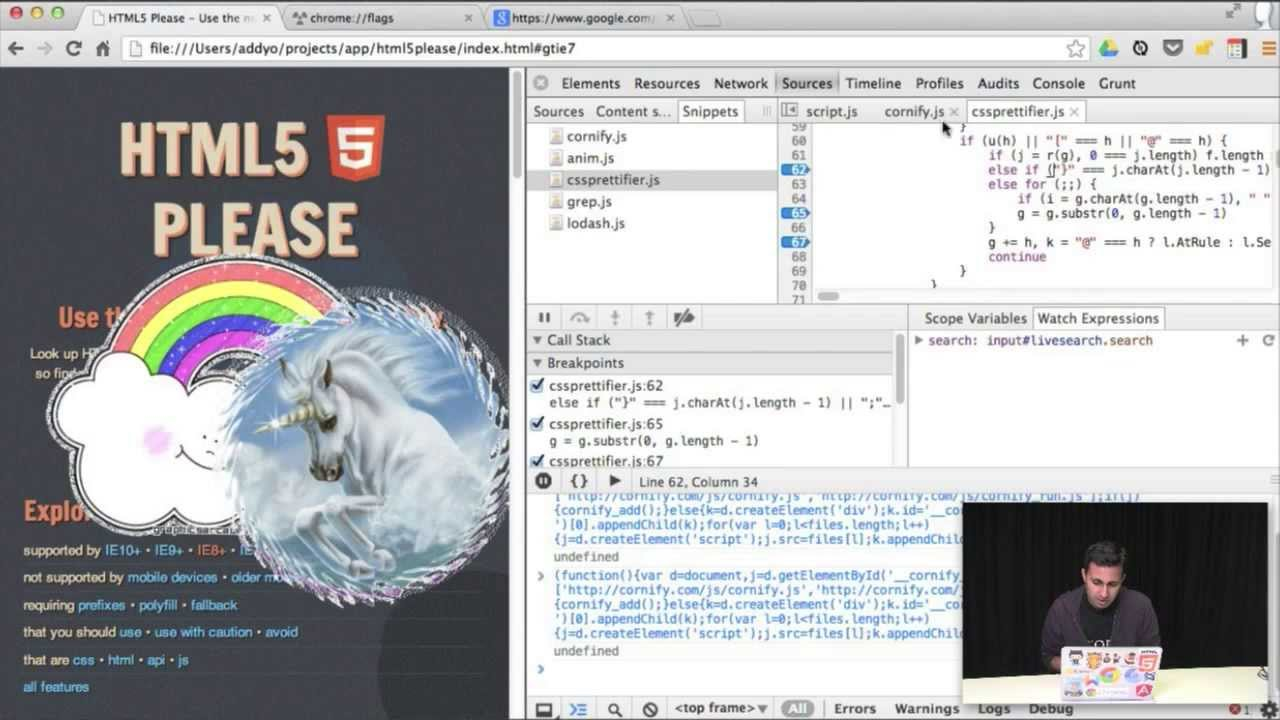 Improving Your 2013 Productivity With The Chrome DevTools