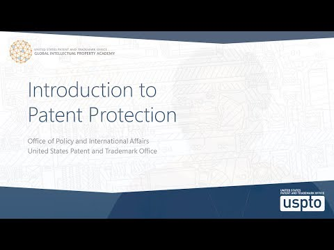 Introduction to Patent Protection