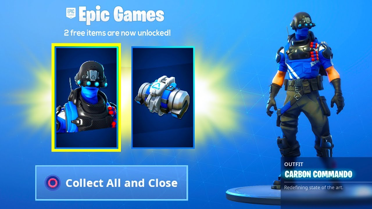 The Free Skin Pack Is Now In Fortnite