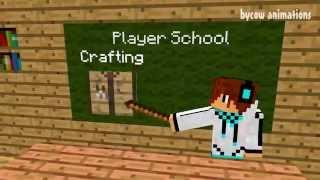 Школа Летсплейщиков: Крафт (Minecraft Мультики)