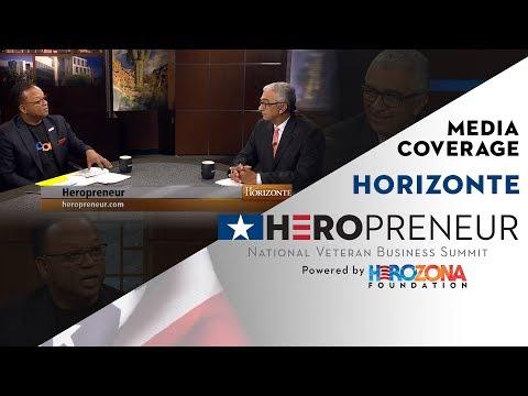 Horizonte conversation on HeroPreneur NBVS with HeroZona Foundation Presidnet & CEO Ronnie Williams