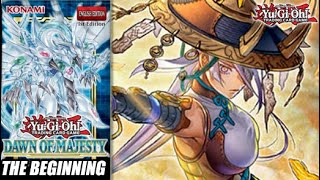 The Beginning Of Yu-Gi-Oh! Dawn Of Majesty
