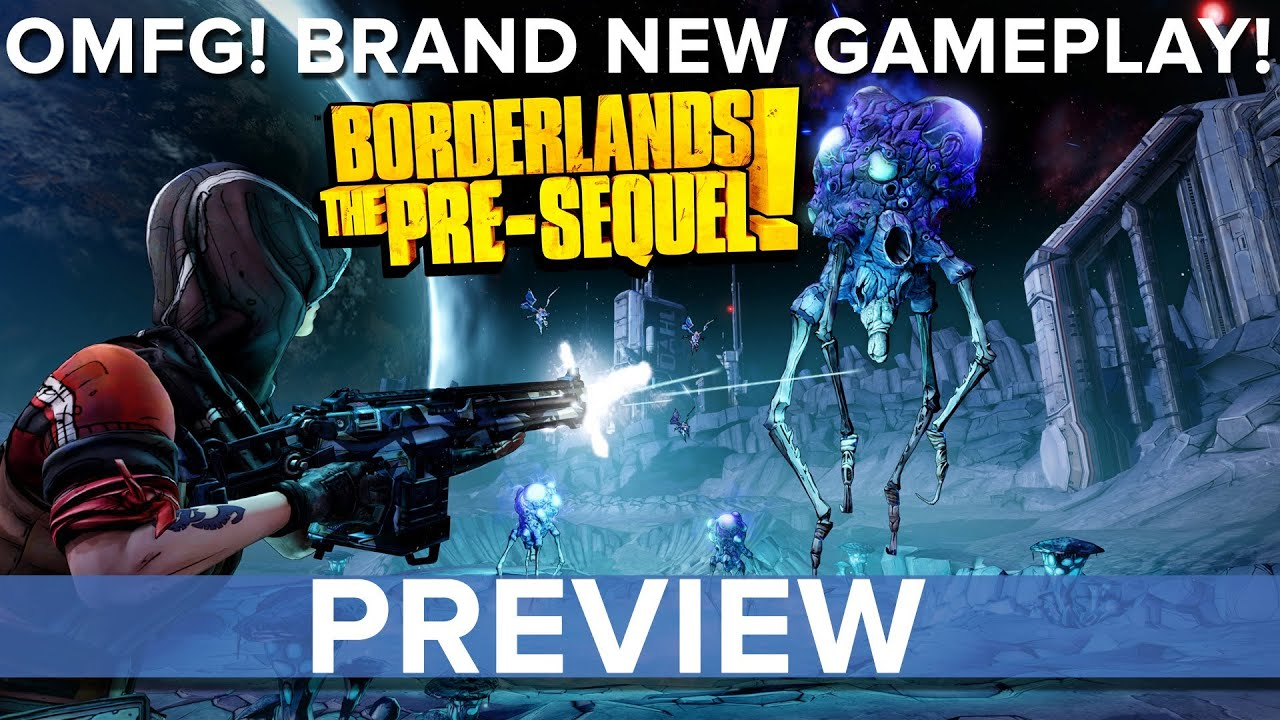 Borderlands: The Pre-Sequel confirmed for PC, PS3 and Xbox