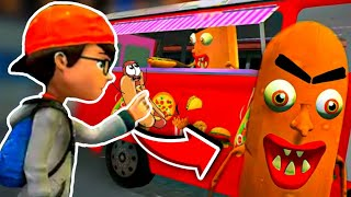 SINISTER SAUSAGE MAN Eyes Scream The Haunted Meat | Gameplay -Walkthrough - By HV Softworks