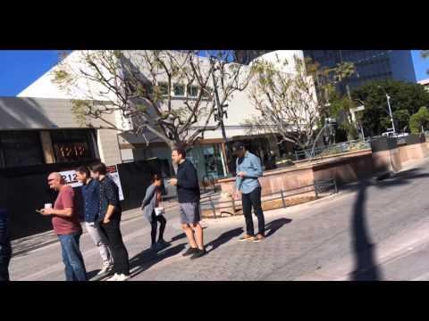 Tesla Model 3 Line Santa Monica