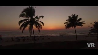 Goa. Benaulim beach. March 2016. DJI Phantom 3 (4К).