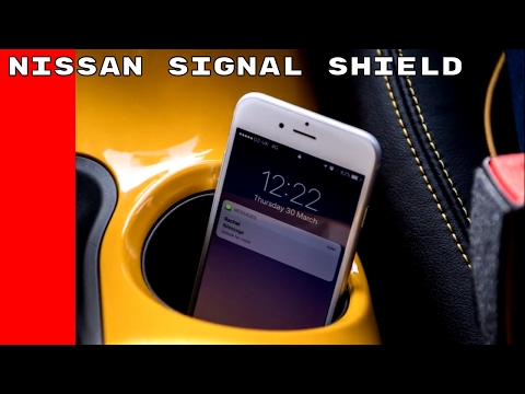 Nissan Signal Shield Reduces Smartphone Distraction While Driving