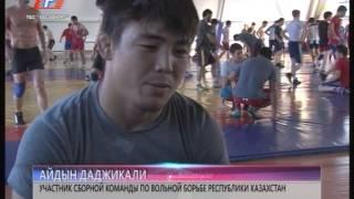 Сборная команда Казахстана по вольной борьбе в Хасавюрте(Сборная команда Казахстана по вольной борьбе, для того чтобы подготовится на свой международный традицион..., 2014-12-26T13:22:54.000Z)