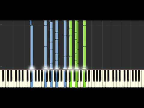 Muse -Ruled by secrecy - Piano Tutorial (60% speed) - Synthesia