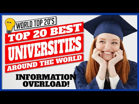Top 20 Universities In The World