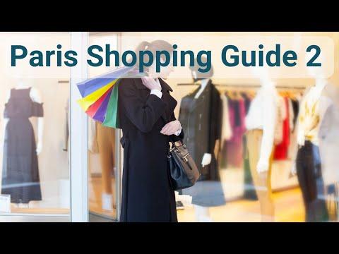 Best Shops in Paris 2nd Arrondissement - Information on the best places to shop in Paris.