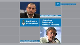 13/MAR Emmanuel Alvarez Agis con Marcelo Zlotogwiazda