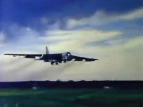 Strategic Air Command Scrambles the B-52 Jets