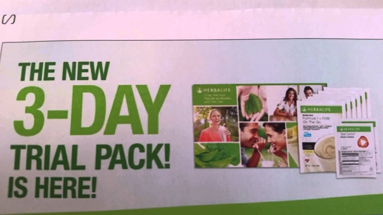 Fort Smith Arkansas Herbalife Ind Member C Arthur 3 Day Trial Pack Lose Weight