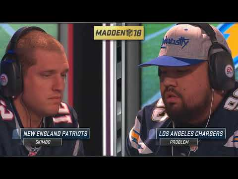 Madden 18 - PROBLEM vs. SKIMBO | Club Championship Quarterfinal (#1 & #2 Ranked Madden Pros)