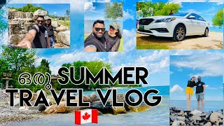 ഒരു SUMMER TRAVEL VLOG / ROAD TRIP / CANADIAN LIFE