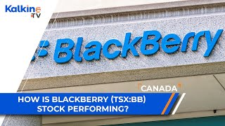How is blackberry (tsx:bb) stock performing?| canada news updates