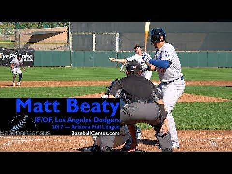 Matt Beaty, IF/OF, Los Angeles Dodgers — 2017 Arizona Fall League