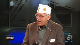 MorningLine: Veterans Days and Resources for Veterans P.3