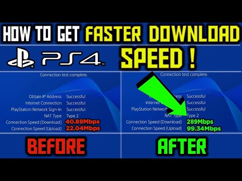*WORKING* How To Download Games Faster On PS4!! 2020