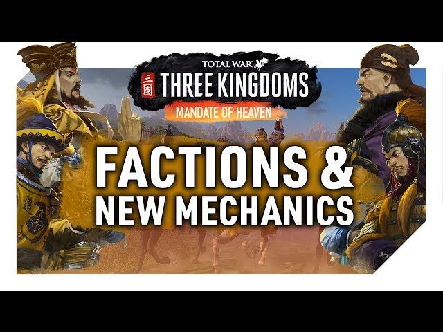 Mandate of Heaven DLC | Trailer, Playable Factions, New Mechanics | Total War: Three Kingdoms