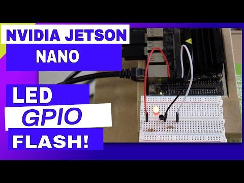 Jetson Nano GPIO - JetsonHacks