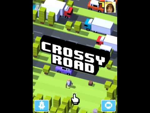 Crossy Road ITS A FORGET ME NOT? - YouTube