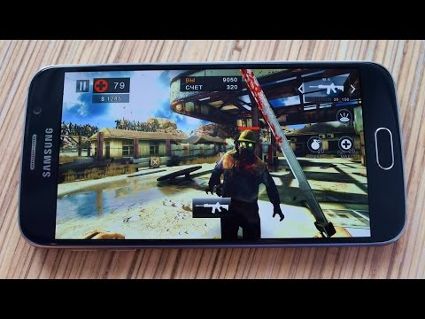 Игры на Galaxy S6 с fps: 18 мощных игр + бенчмарки (games with fps-meter + benchmarks)
