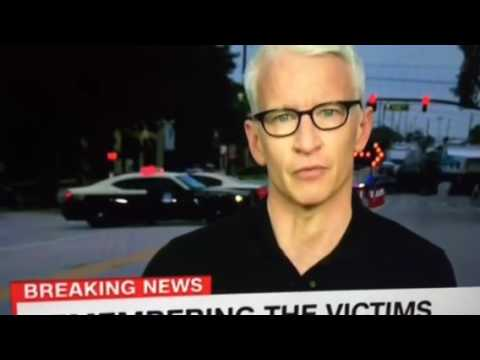 Emotional Anderson Cooper on the Orlando attack