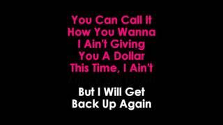 Galantis No Money lyrics Karaoke